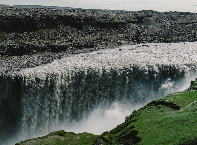 Dettifoss Waterfall, a King on the Diamond Circle Iceland